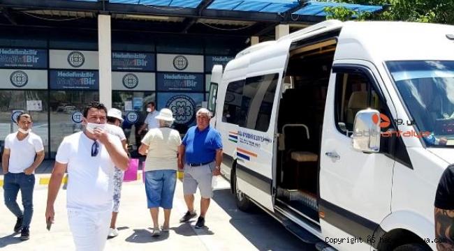 Datça ile Marmaris arası yolcu ulaşımında kart çilesi