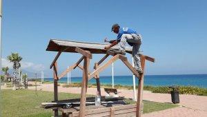 Demre Sahil Parkı yeni görünümüne kavuşuyor