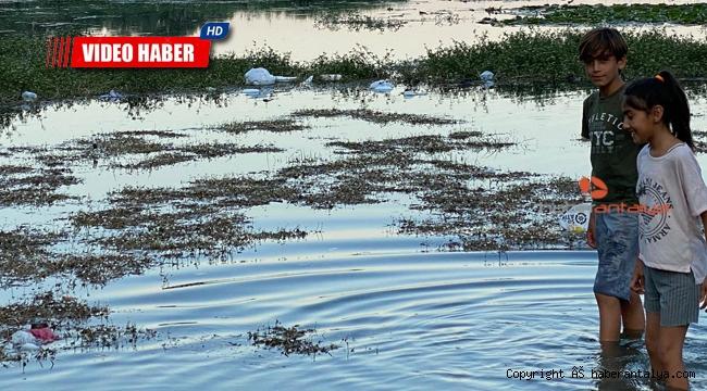 Doğal güzellik Kırkgöz'de çöp kirliliği !