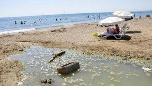 Dünyaca ünlü plajda plajda kirlilik ve koku rahatsızlığı