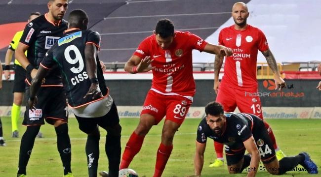 Fraport TAV Antalyaspor evinde Alanyaspor'u mağlup etti !