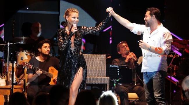 Gülben Ergen, Bodrum'da sahneye çıktı