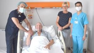 Hollandalı emekli askeri, Türk doktor hayata döndürdü