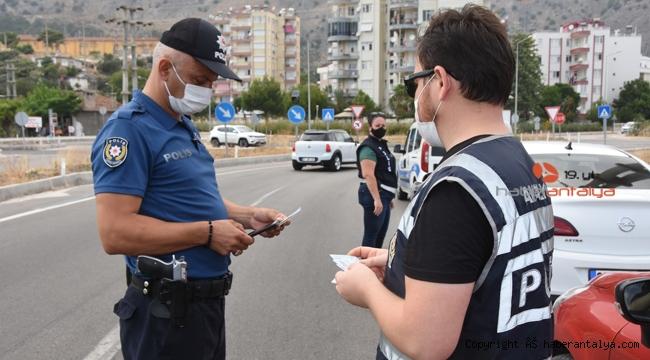 Huzur güven uygulaması yapıldı, 53 bin lira ceza kesildi !