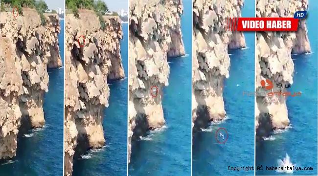 İddia için 40 metreden denize atlayan genç, öldü !