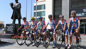 Konyaaltı Bisiklet Takımı antrenmanlarına başladı