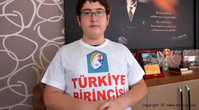 LGS Türkiye birincisinin Cumhurbaşkanı sevgisi