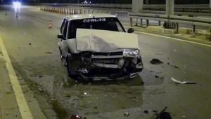 Manavgat'ta trafik kazası: 1 yaralı