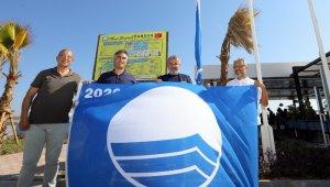 Manavgat'ın 2 plajına Mavi Bayrak ödülü verildi