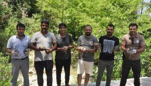 Manavgat'ta vatandaş istedi, doğaya 50 keklik bırakıldı