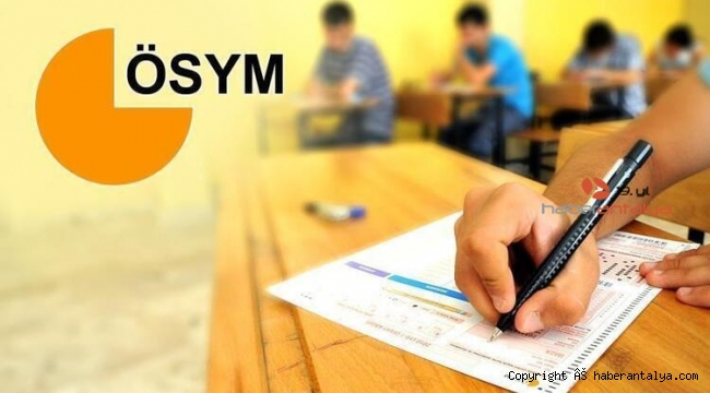 ÖSYM'den ertelenen 3 sınav için açıklama