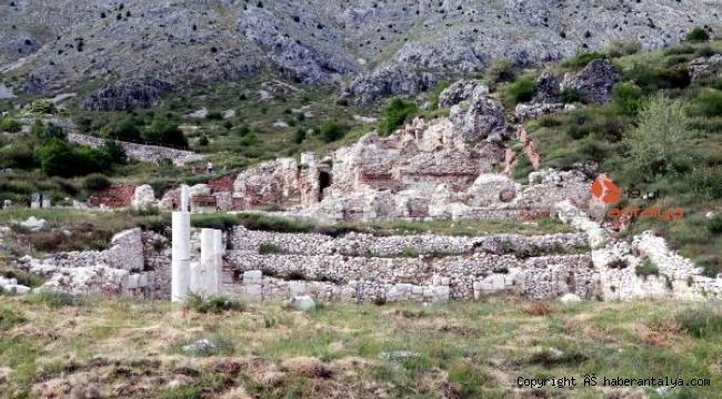 Sagalassos'taki kazılara koronavirüs engeli