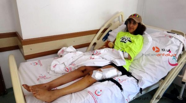 Taksici ile kavgada bacağı lastik altında kalan Pınar: Modellik görüşmesine gelmiştim