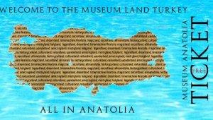 Turistlere 'Müze ülkeye hoşgeldiniz' armağanı