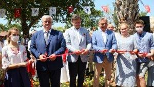 Ukraynalı Bakan Antalya'da park açtı