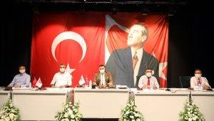 Alanya Belediyesi ağustos meclisi toplandı