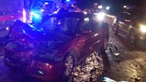 Antalya'da feci trafik kazası: 1 ölü, 2 yaralı