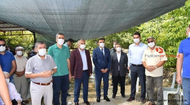 Antalya Vali Yardımcısı Yalçın Sezgin'in acı günü