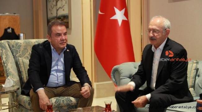 CHP lideri Kılıçdaroğlu, Antalya'dan ayrıldı
