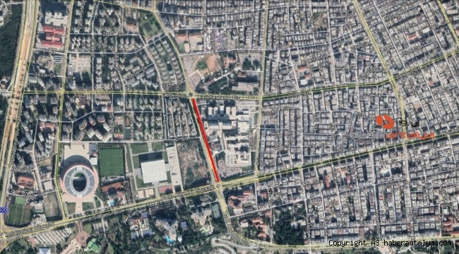 Dikkat ! Eğitim Araştırma Hastanesi önü trafiğe kapanıyor