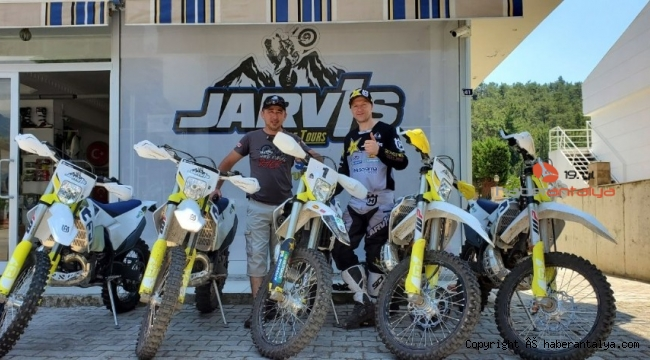 İngiliz motosikletçi Jarvis'ten Kemer tanıtımı