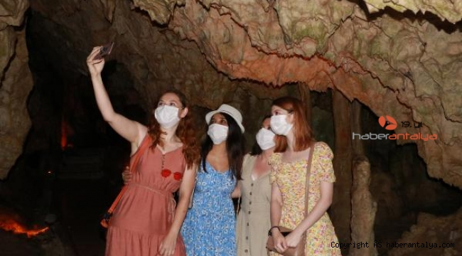 İnsuyu Mağarası'na ziyaretçi akını