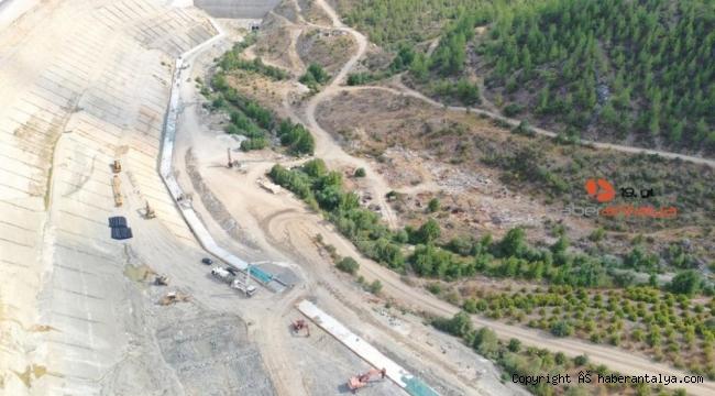 Kapıçayı Barajı son aşamaya geldi