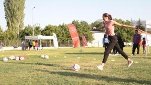 Köylerde spor heyecanı başlıyor