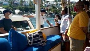 O tekne kaptanı serbest bırakıldı !