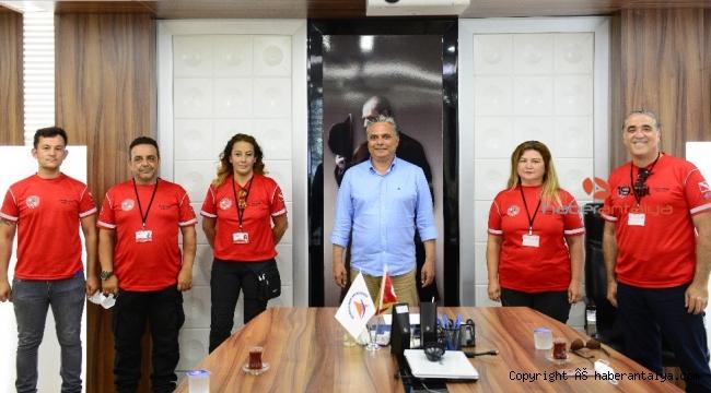 SKUT'tan Başkan Uysal'a ziyaret