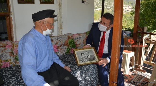 93 yaşındaki Kore gazisine sürpriz