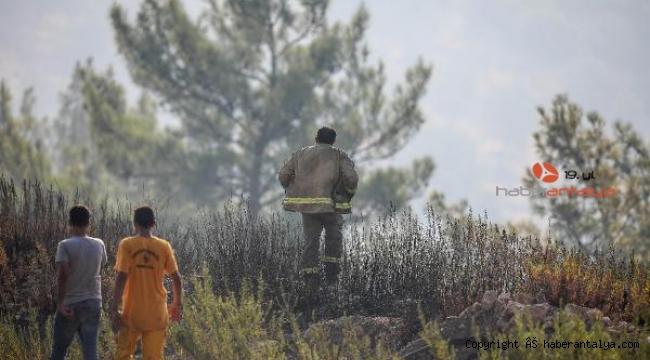 Adrasan'daki yangında 60 hektar ormanlık alan küle döndü