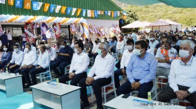 AK Parti Finike'de Aladağ güven tazeledi