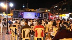 Altın Portakal Sinema Tırı Gazipaşa ve Elmalı'da