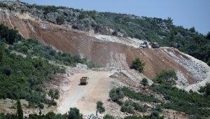 Antalya bulvarı manzaralı yola seyir terası