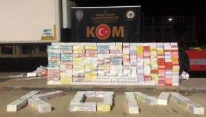 Antalya'da 900 bin liralık kaçak sigara kartuşu operasyonu