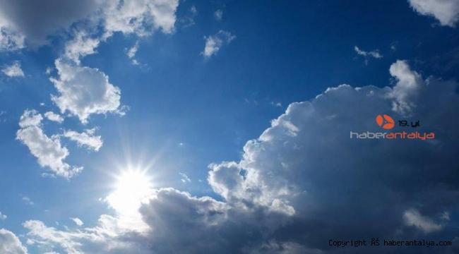 Antalyalılar bu habere sevinecek. Önümüzdeki hafta hava nasıl olacak ?