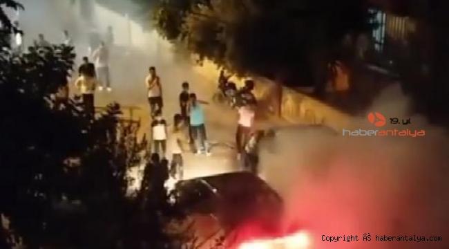 Asker eğlencesinde tozu dumana kattılar, tepki göstereni utanmadan dövmeye kalkıştılar