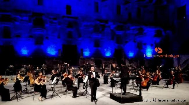 Aspendos Festivali, 'Genç Opera Yıldızları' konseriyle sona erdi
