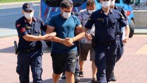 Bakır kablo hırsızları tutuklandı
