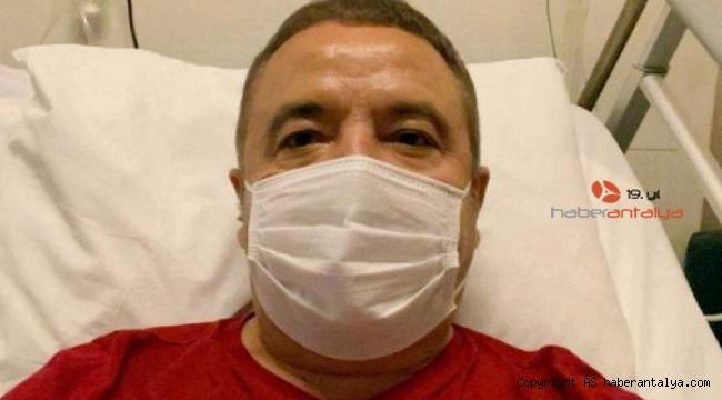 Başkan Böcek'in yoğun bakımda tedavisi sürüyor