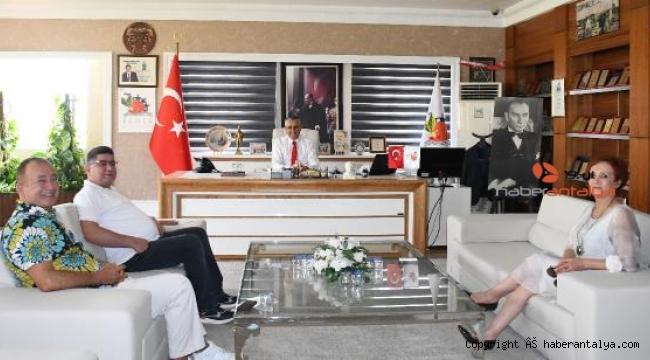 DSP'den Başkan Topaloğlu'na ziyaret