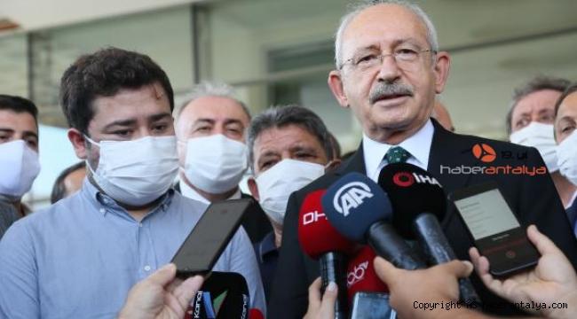 Kılıçdaroğlu Muhittin Böcek'in son durumunu açıkladı !