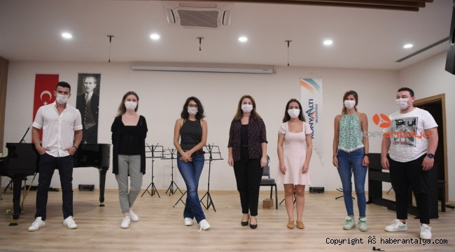 Konyaaltı Belediyesi Müzik Akademisi seçmeleri tamamlandı