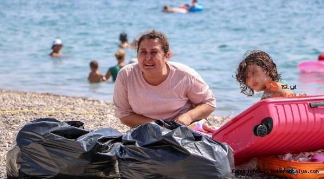Konyaaltı Sahili'nde 'Ölmek istemiyorum' diye ağlayan kadın, psikolojik tedavi görecek