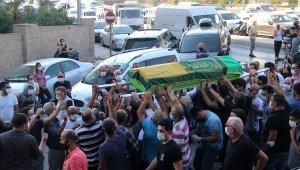 'Maskeli Şebnem'in cenazesi konvoyla getirildiği Alanya'da toprağa verildi