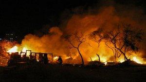 Muratpaşa'da korkutan yangın !