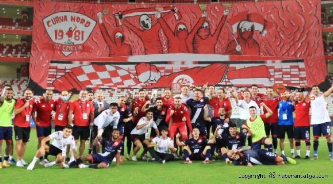 Tamer Tuna'lı Antalyaspor durdurulamıyor