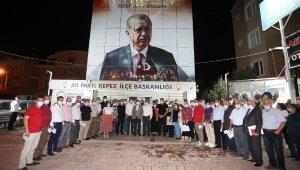 Tütüncü: AK Parti teşkilatları vefanın adresidir
