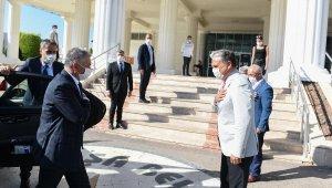 Vali Yazıcı, Başkan Uysal'ı ziyaret etti